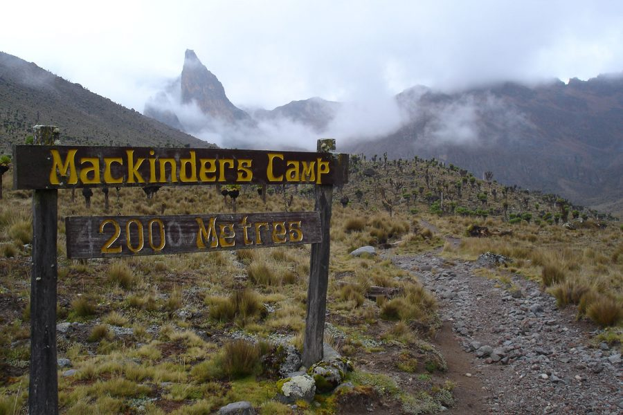 mackinder's camp