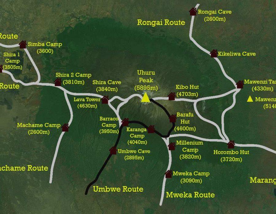 umbwe route1